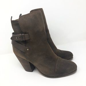 Rag & Bone Dark Brown Bootie